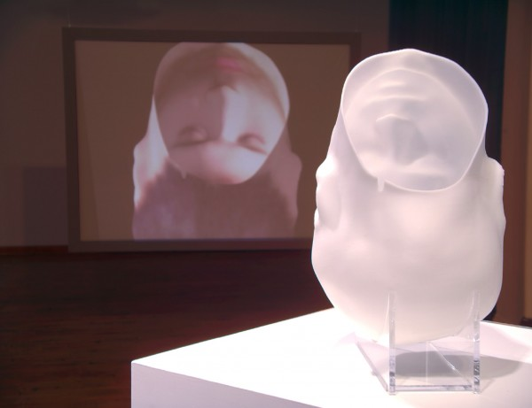 Hollow Blank Bust: Installation View