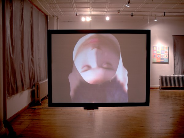 Hollow Self Portrait: Installation View