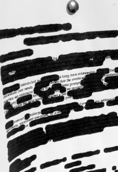 Redacted Text Sample